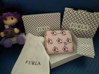 Furla special edition hello kitty wallet