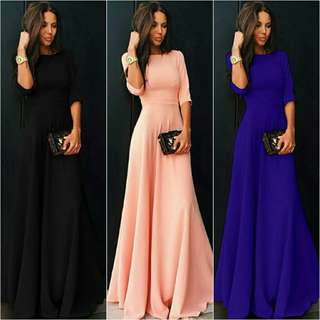 Women's Long Evening Maxi Dress