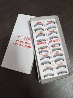 Princess Brand Eyelashes No 7 (3 boxes)
