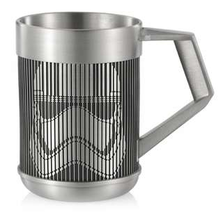 BNIB Star Wars Royal Selangor Captain Phasma (Stormtrooper) Pewter Mug