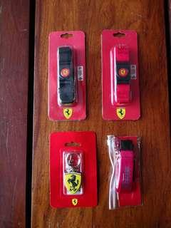 Ferrari ID Lanyards and Key Chains