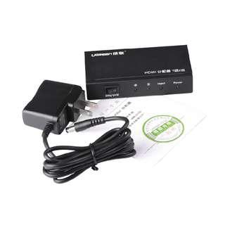 1x2 HDMI Amplifier Splitter 1080p