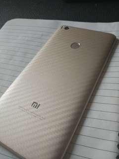 Xiaomi series transparent carbon fibre back protector
