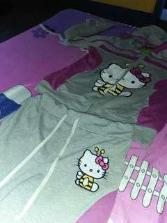 Jacket & Pants Of Hello Kitty