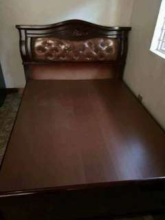 MALAYSIAN WOOD BED FRAME