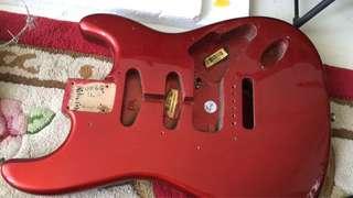 Original Fender US strat body