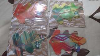 Starbucks PH die cut cards