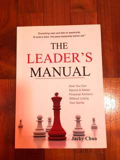 The Leader's Manual (for Financial Advisors)