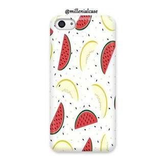 Premium semangka nenas hard/softcase(bs custom)