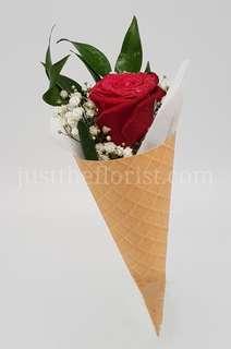 Cone rose