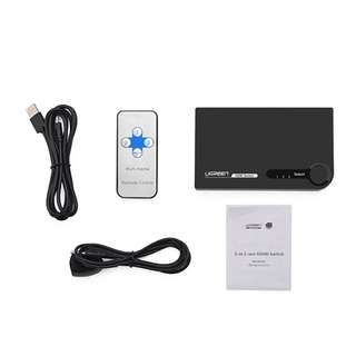 HDMI 3*1 Switch Black