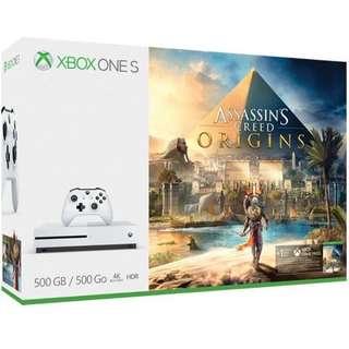 Xbox One S Assasins creed origin