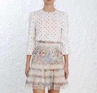 Zimmermann lovelorn blouse