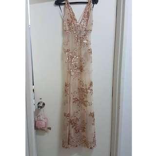 Forever 21 Maxi dinner dress