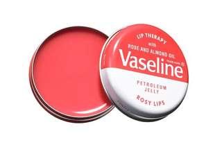 VASELINE PETROLEUM JELLY ROSY PINK