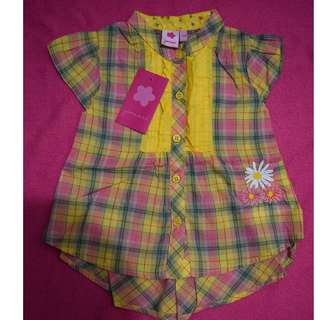 Baby Girl Cute Colorful Blouse