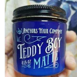 Teddy Boy Matte Water-Based Medium Hold Pomade