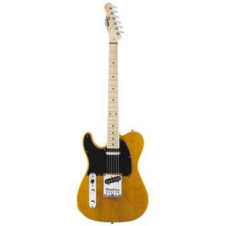 Squier Affinity Telecaster Left-Handed Electric Guitar, Maple FB, Butterscotch Blonde