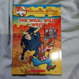 Geronimo Stilton The Wild Wild West