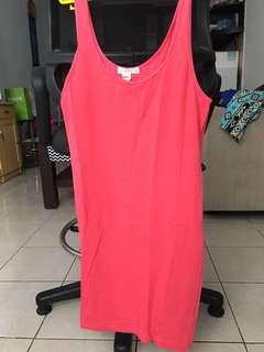 Mini dress / tank top XXI