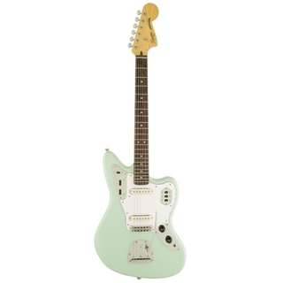 Squier Vintage Modified Jaguar Electric Guitar, Rosewood FB, Surf Green