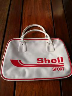 Vintage Design Shell gym bag