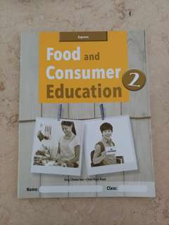Food and Consumer Education workbook