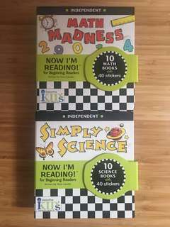 Math Madness - Simply Science - Now I'm Reading for independent beginning readers