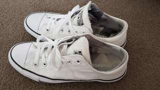 Converse White Shoes - Madison Ox