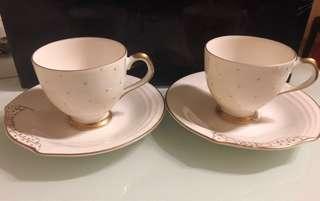 Jun Ashida Teacup & saucer set 2 pcs 套裝(日本購買)