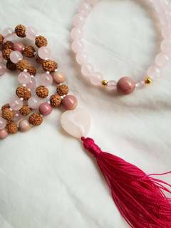 Mala & Bracelet from yogi's surprise box