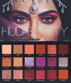 Authentic Huda Beauty Desert Dusk Palette
