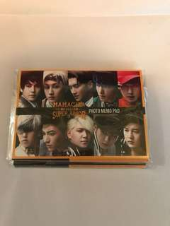 Super Junior Memo Pad