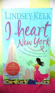 I heart New York by: Lindsey Kelk