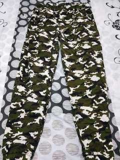 Camo Jogger Pants Plus Size