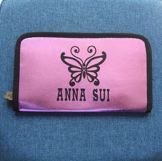 ANNA SUI king size Glossy Wallet令面特大長銀包