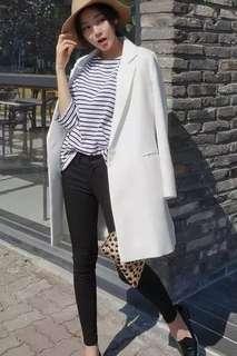 White Suit Coat