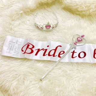 Bride to be Set 1