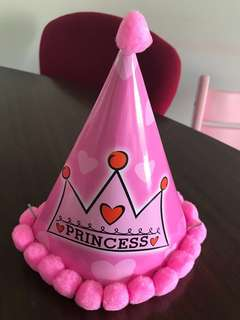 Princess Premium Birthday Party Hats