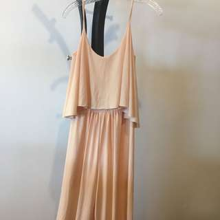 Apartment 8 light peach jumpsuit