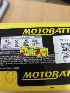 Bateri Motobatt MBT14B4