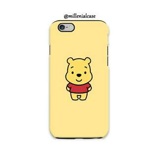 Premium winnie the pooh hard/softcase(bs custom)