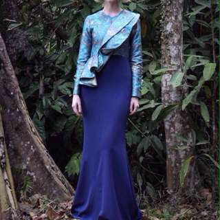 Jovian Mandagie Kistina Dress - Grace Kelly Collection
