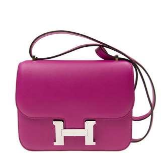 Hermés constance mini L3 rose purple