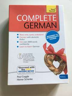 German (Teach yourself - Beginner to Intermediate)