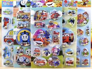 Stickers booklet