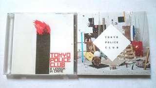 Used Cd Tokyo Police Club A Lesson In Crime & Champ