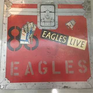 Eagles – Eagles Live, 2x Vinyl LP, Asylum Records – AS 62032, 1980, Germany