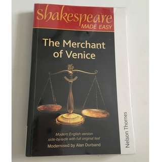 Shakespeare Merchant of Venice