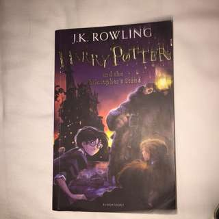 Buku Harry potter philosopher stone